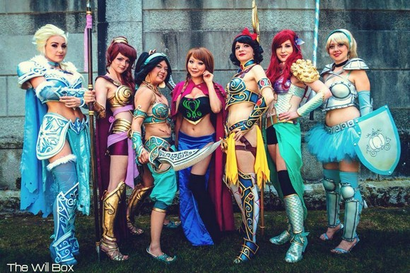 These Disney princesses are ready to kick ass in their awesome battle gear!【Photos】