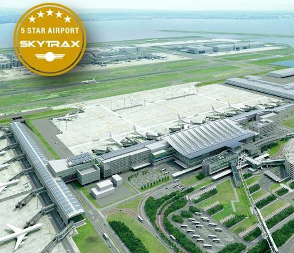 Tokyo's Haneda Airport becomes fourth airport in the world to be awarded coveted 5-Star rating