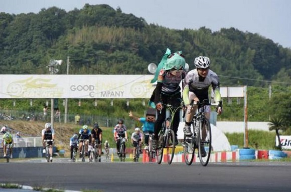 When cycling and cosplay collide: Introducing the Good Smile Racing Cup