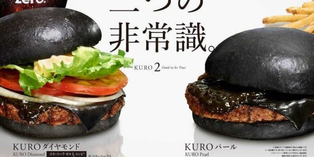 Burger King Japan's black burgers look unbelievably gross in real life