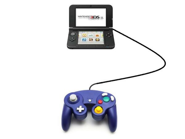 Sad 3DS user wants Gamecube peripheral for Smash Brothers, genius tinkerer provides