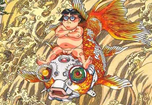 Akira's Katsuhiro Otomo to design giant mural featuring cyborg fish for Tohoku's Sendai Airport