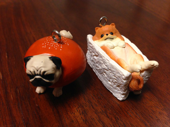 Doggy Bread figures are back, still so cute we could eat them up (if they weren't plastic)