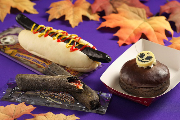 Tokyo Disney Sea adds pitch-black sausage, other spooky treats for Halloween