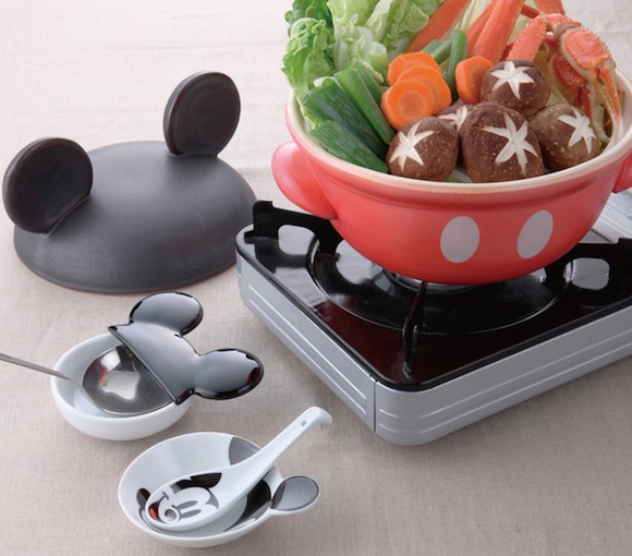 The ultimate in kawaii cookware — Mickey and friends turn themselves into adorable pots!