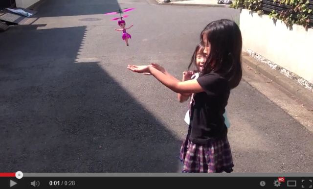 """""""Bye-bye!"""" Chinese flying doll works a little too well, becomes one-use toy 【Video】"""