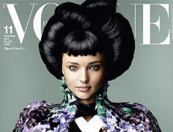 Miranda Kerr's newest photoshoot for Vogue Japan stirs up controversy