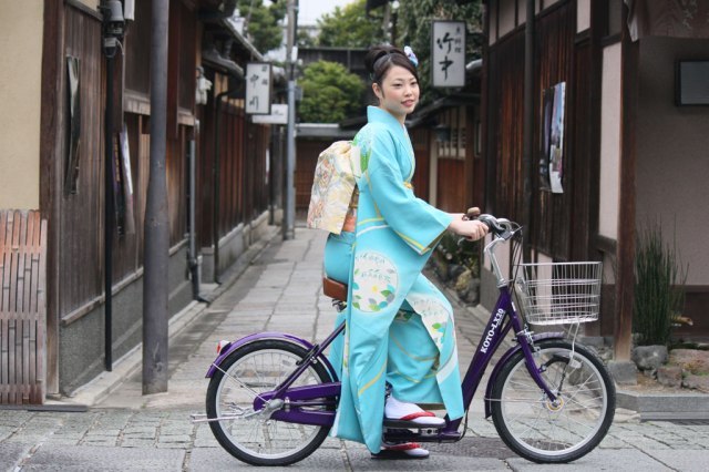 From Kyoto: The bicycle you can ride while wearing a kimono
