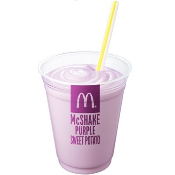 McDonald's Japan welcomes autumn with Purple Sweet Potato McShake