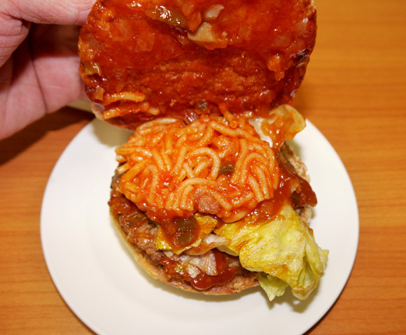 Third time's the charm – Lotteria's noodle burger series strikes again