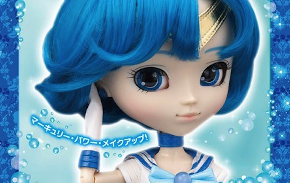 Sailor Mercury joins the Pullip Doll lineup