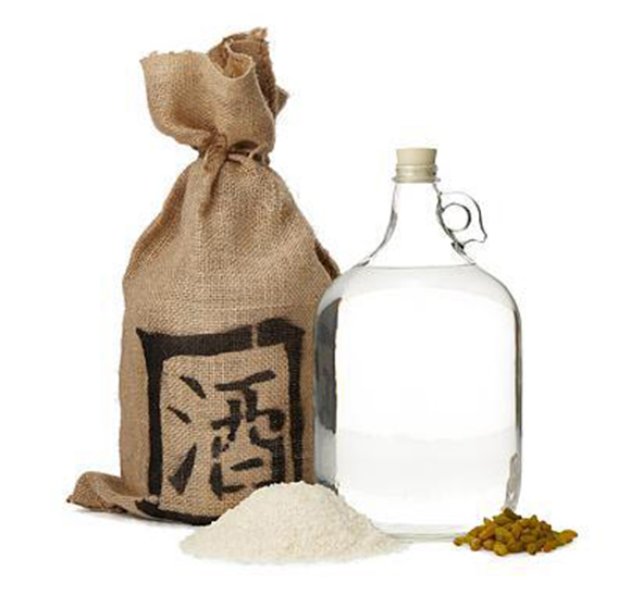 Brew a gallon of homemade sake with this DIY kit