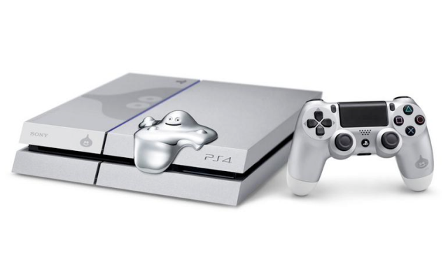 "Newsflash: Silver ""Dragon Quest Metal Slime Edition"" PlayStation 4 unveiled by Sony 【Updated】"