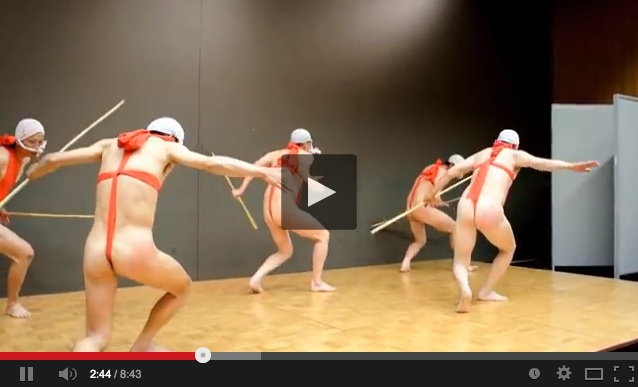 These wacky traditional dancers know how to put the fun in fundoshi! 【Video】