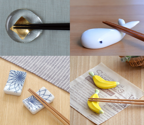 You can rest your chopsticks on a lot of different things in Japan