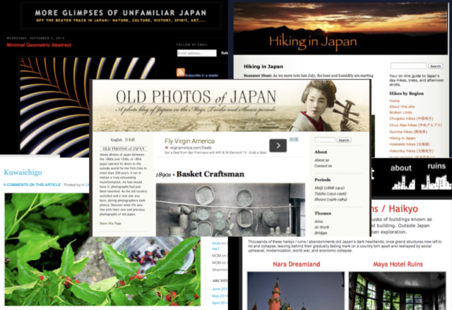Five of our favorite blogs about Japan