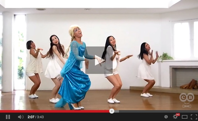 These goofy Japanese pro dancers sure know how to 'Let it go'!【Video】