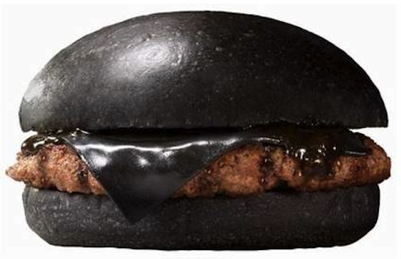Burger King Japan has two new burgers with jet-black buns…oh, and BLACK CHEESE!