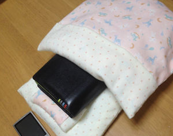 Sweet dreams, MasterCard: People in Japan are putting their wallets to bed in tiny futons