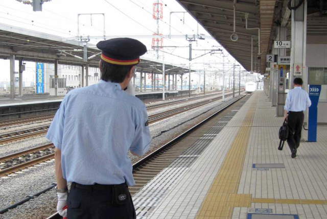Police officer arrested for assaulting 2 train station attendants in Saitama