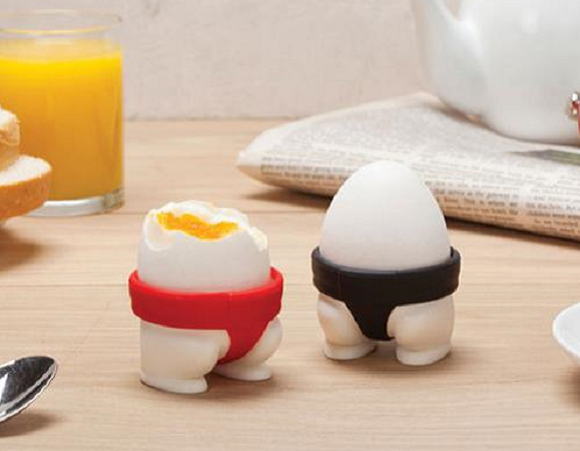 Adorable sumo egg cups are here to turn your breakfast table into a wrestling ring