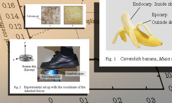 Japanese team wins Ig Nobel prize for confirming that banana peels are in fact slippery