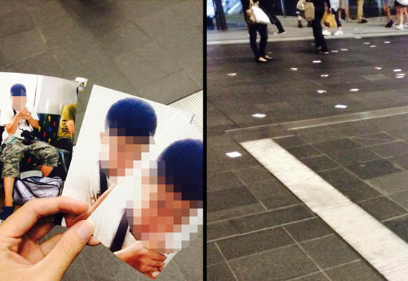 Osaka Station showered with photos of a teenage boy, two train otaku questioned by police