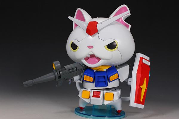 Anime all-stars combine in fan-crafted Mobile Suit Yo-Kai Watch 【Photos】
