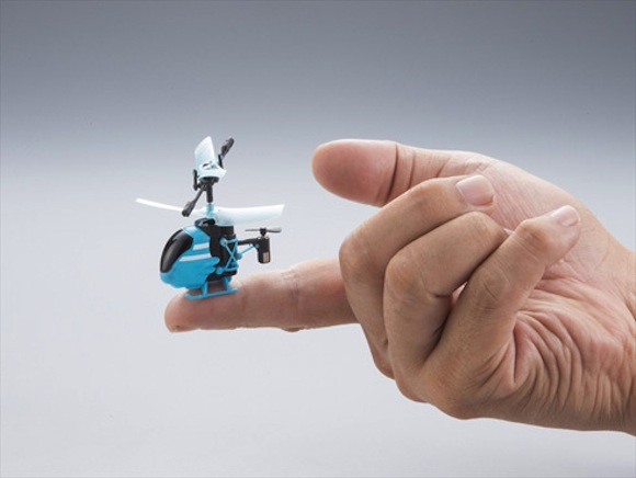 The world's smallest remote-controlled helicopter is impossibly cute, yours to buy in December