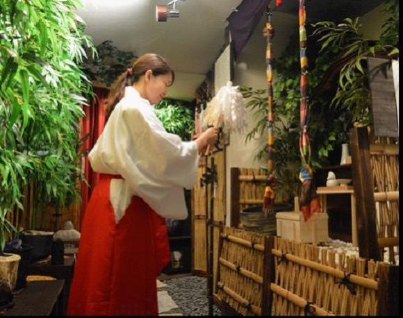 New 'Shrine Cafe' in Tokyo offers fortune-telling and counseling services with your tea