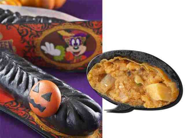 Tokyo Disney's pitch-black Halloween snacks look even weirder in real life