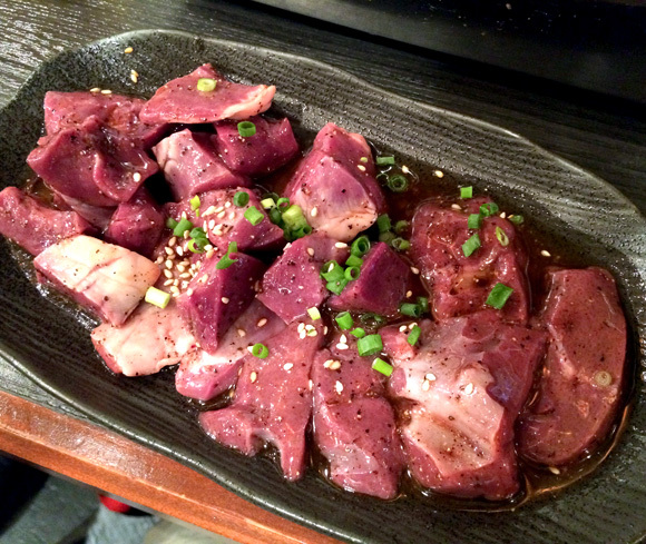 Late-night all-you-can-eat yakiniku for only 980 yen? Yes, please!