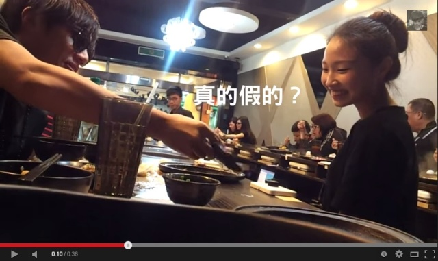 Taiwanese YouTuber's punny pick-up line gets him a girl's number in just 36 seconds