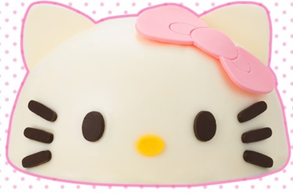 "Create your very own edible Hello Kitty this Christmas with this ""Face Cake"" set!"
