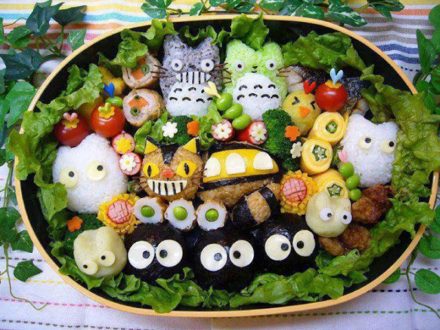 Why are some Japanese preschools banning awesome, adorable character bento?