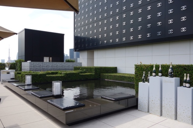 Le Jardin de Tweed: Lunch on the roof terrace at Chanel Ginza