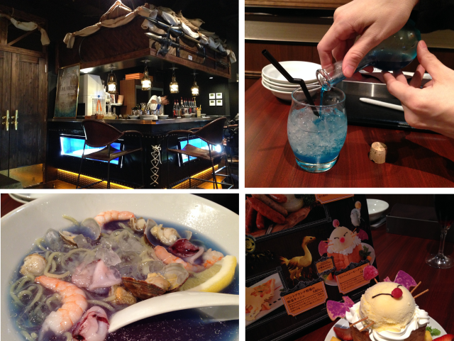 We raid the new Final Fantasy restaurant on our quest for drinks, desserts, and blue ramen