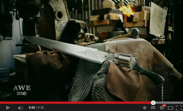 Dressing up as Final Fantasy's Squall for Halloween? You need this real-life gunblade 【Video】