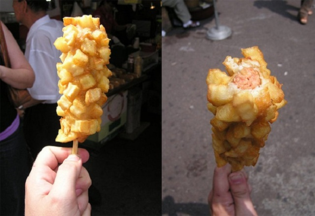 Korea's kogo is the ultimate French-fry-encrusted corn dog