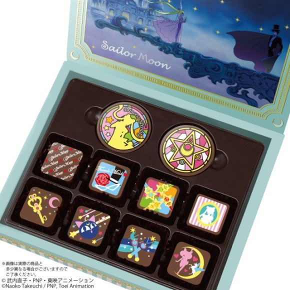 Plan Way, Way Ahead with Sailor Moon Valentine's Day Chocolates2