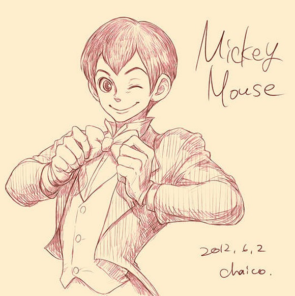Mickey and friends in human form are more charming than we had imagined! 【Pics】