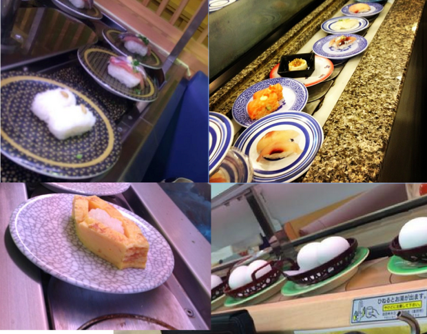 A funny thing happened at the conveyor belt sushi shop…