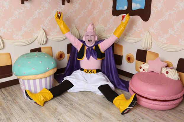 Start planning for next year's Halloween with this official Majin Buu costume
