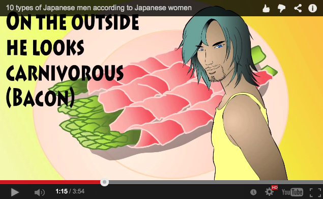 """YouTuber lists the """"10 types of Japanese men"""" as according to Japanese women"""