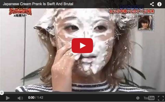 Japanese TV show's prank delivers laughs with the utmost speed, zero mercy 【Video】