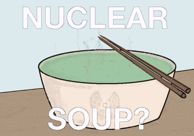 """Would you eat """"nuclear soup""""? Japanese artists serve broth made with Fukushima-grown vegetables"""