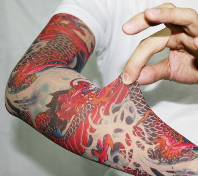 Considering a tattoo? Take it for a removable test run with these tattoo sleeves
