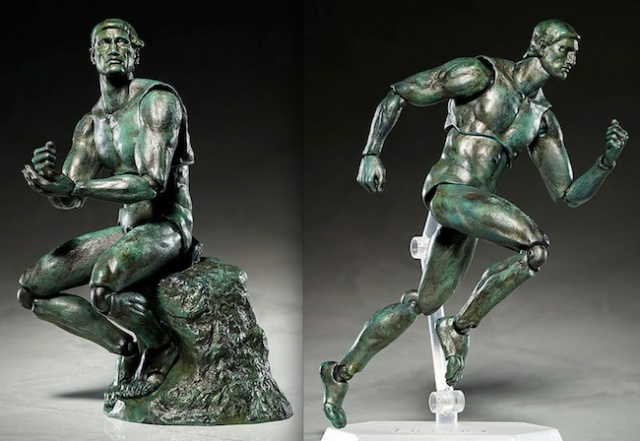Rare Rodin sculpture with articulated joints discovered, should be called 'The Mover'