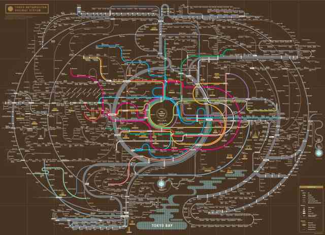 South Korean design company turns subway maps into beautiful artwork you can hang on your wall