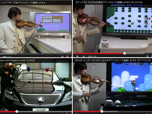Take a tour of video game history and violin majesty with Teppei Okada